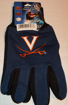 Ncaa Nwt No Slip Utility Work GLOVES-VIRGINIA Cavaliers - $7.95
