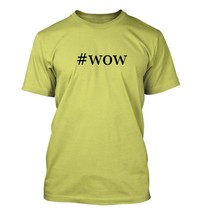 #wow - Hashtag Men's Adult Short Sleeve T-Shirt  - $24.97
