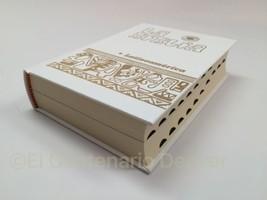 BIBLIA LATINOAMERICA bolsillo Pasta Dura BLANCA Uñeros Catolica Latinoamericana - $17.77
