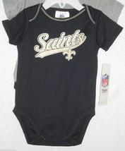 Nfl Nwt Infant ONESIE-SET Of 2- New Orl EAN S Saints 12M - $24.95