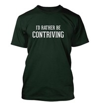 I'd Rather Be Contriving - Men's Adult Short Sleeve T-Shirt - $24.97