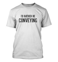 I'd Rather Be Conveying - Men's Adult Short Sleeve T-Shirt - $24.97