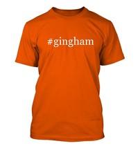 #gingham - Hashtag Men's Adult Short Sleeve T-Shirt  - $24.97