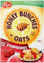 Honey Bunches of Oats with Real Strawberries, 13-Ounce Box - $4.94