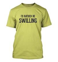 I'd Rather Be SWILLING - Men's Adult Short Sleeve T-Shirt - $24.97