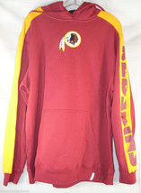 NFL NWT REEBOK POWERHOUSE HOODED SWEATSHIRT - WASHINGTON REDSKINS -  LARGE - €33,93 EUR