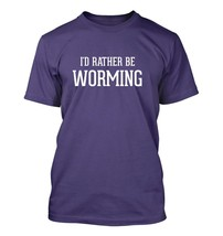 I'd Rather Be WORMING - Men's Adult Short Sleeve T-Shirt - $24.97