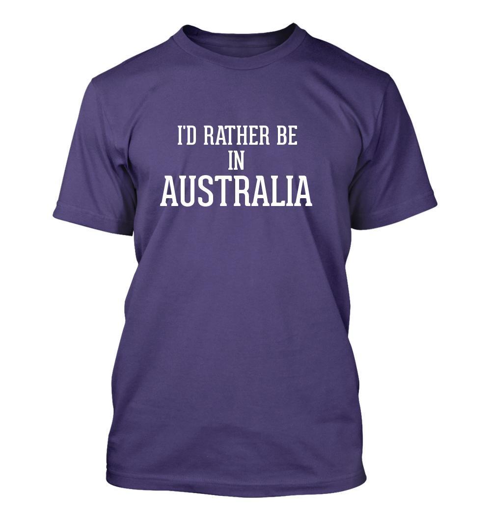 I'd Rather Be In AUSTRALIA - Men's Adult Short Sleeve T-Shirt
