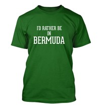 I'd Rather Be In BERMUDA - Men's Adult Short Sleeve T-Shirt - $24.97
