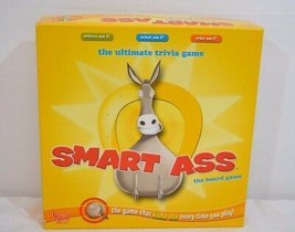 Smart Ass The Board Game The Ultimate Trivia Game 2010 2-8 players 14+ - $29.99