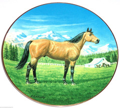 The Quarter Horse Collector Plate Purebred Hors... - $49.95