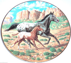 The Appaloosa Horse Collector Plate Purebred Ho... - $49.95