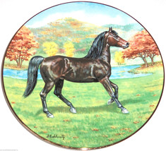 The Morgan Horse Collector Plate Purebred Horse... - $49.95