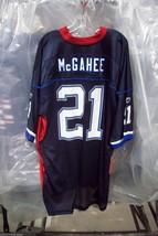 NFL BUFFALO BILLS WILLIS McGAHEE REEBOK ROYAL BLUE & RED REPLICA JERSEY ... - $38.95