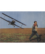 North by Northwest - Cary Grant - Movie Poster - Framed Picture 11 x 14 - £23.63 GBP