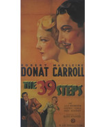 The 39 Steps - Robert Donat - Movie Poster - Framed Picture 11 x 14 - £23.63 GBP