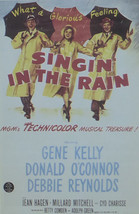 Singin' in the Rain - Gene Kelly  - Movie Poster - Framed Picture 11 x 14 - $32.50