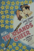 Thousands Cheer - Mickey Rooney  - Movie Poster - Framed Picture 11 x 14 - $32.50