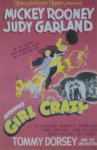 Girl Crazy - Mickey Rooney  - Movie Poster - Framed Picture 11 x 14 - $32.50