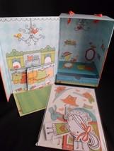 Hallmark Paper Doll Penny Paperheart  Dress Shop Mini Play Set - $9.75