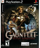 Gauntlet: Seven Sorrows Sony PlayStation 2 Game, Excellent Condition, SH... - $23.97