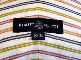 "ROBERT TALBOT Men's Size:15.5"" - 33"" Striped Button Up FRENCH CUFF Dress... - €19,12 EUR"