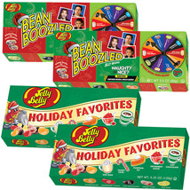 Bean Boozled Naughty Or Nice And Jelly Belly Holiday Favorites Set (4 To... - $25.18