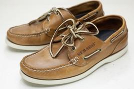 Sebago 7 Brown Boat Shoes Men's - $44.00