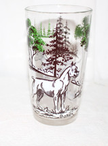 Vintage Swanky Swigs Sporting Dogs Vintage Breeds Glass Boxer & Dalmation - $23.38