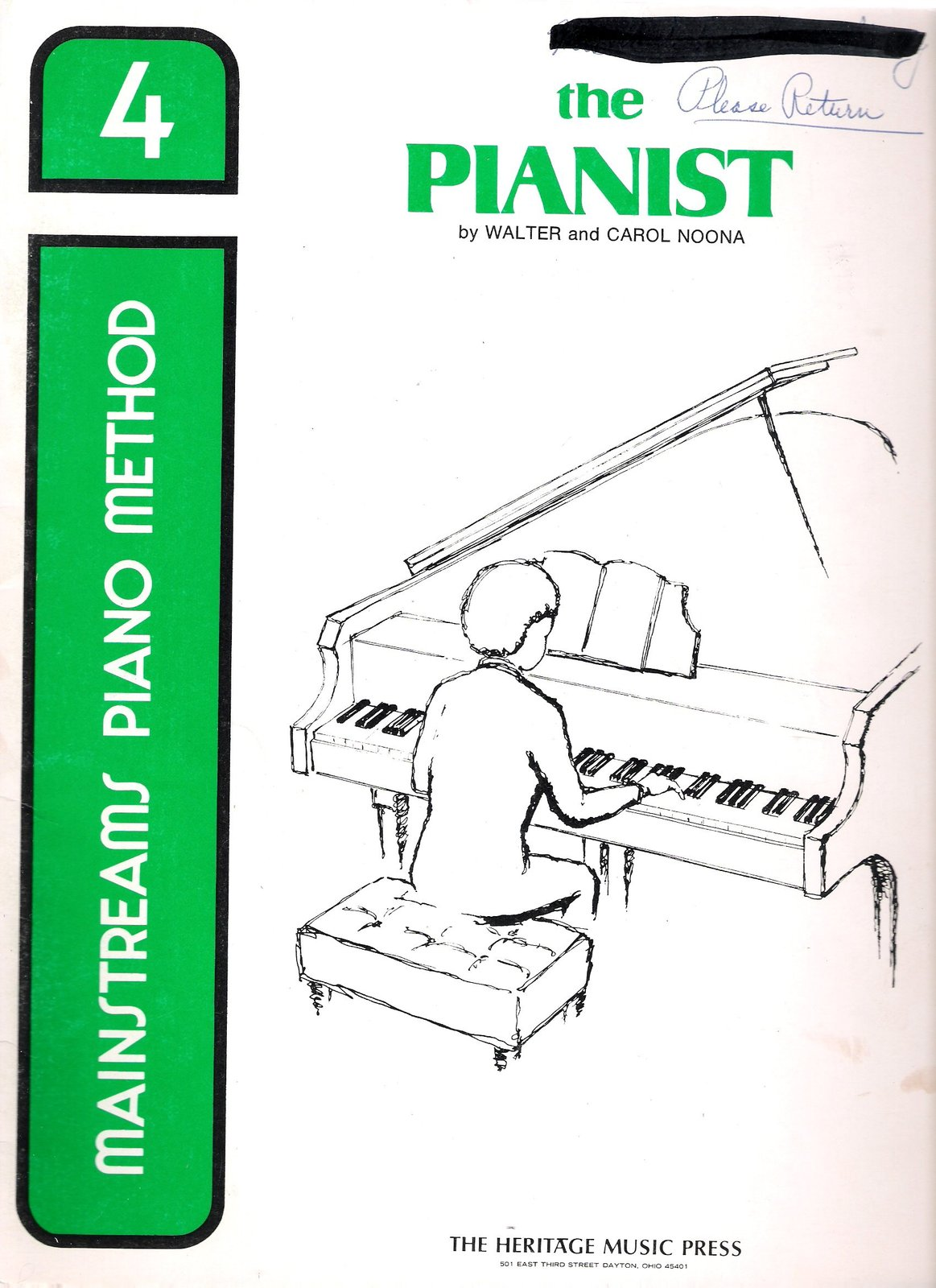 Mainstreams Piano Method: the Pianist, Book 4. [Paperback] [Jan 01, 1973]