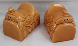 Saddle Western Salt & Pepper Shakers Spice of Life Collection Ron Gordon... - $18.98