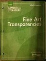 Elements of Literature: Fine Art Transparencies Grade 12 Sixth Course [Film] ...