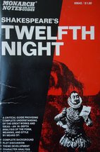 Shakespeare's Twelfth Night (Monarch notes) [Aug 01, 1991] Gilbert, Sandra
