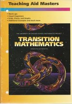 Transition Mathematics Teaching Aid Masters (University of Chicago School Mat...