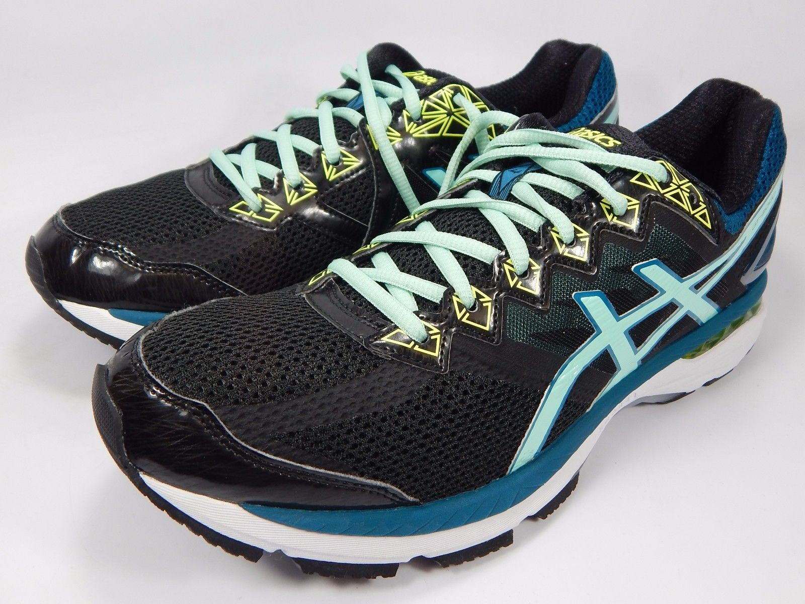 Asics GT 2000 v 4 Women's Running Shoes Size US 12 M (B) EU 44.5 Black T656N