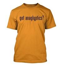 got anaglyptics? Men's Adult Short Sleeve T-Shirt   - $24.97
