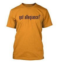 got allegiance? Men's Adult Short Sleeve T-Shirt   - $24.97