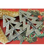 Vintage Pair Christmas Tree Clips John Hardy Mo... - $34.95