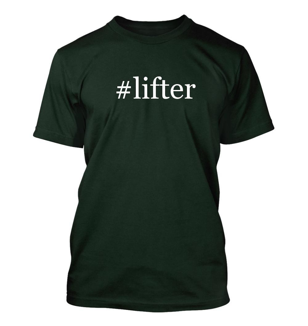 #lifter - Hashtag Men's Adult Short Sleeve T-Shirt