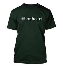 #lionheart - Hashtag Men's Adult Short Sleeve T-Shirt  - $24.97