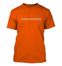 #obscurantism - Hashtag Men's Adult Short Sleeve T-Shirt  - $24.97