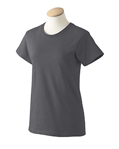 Dark Chocolate XS G200L Gildan Women ultra cotton T-shirt
