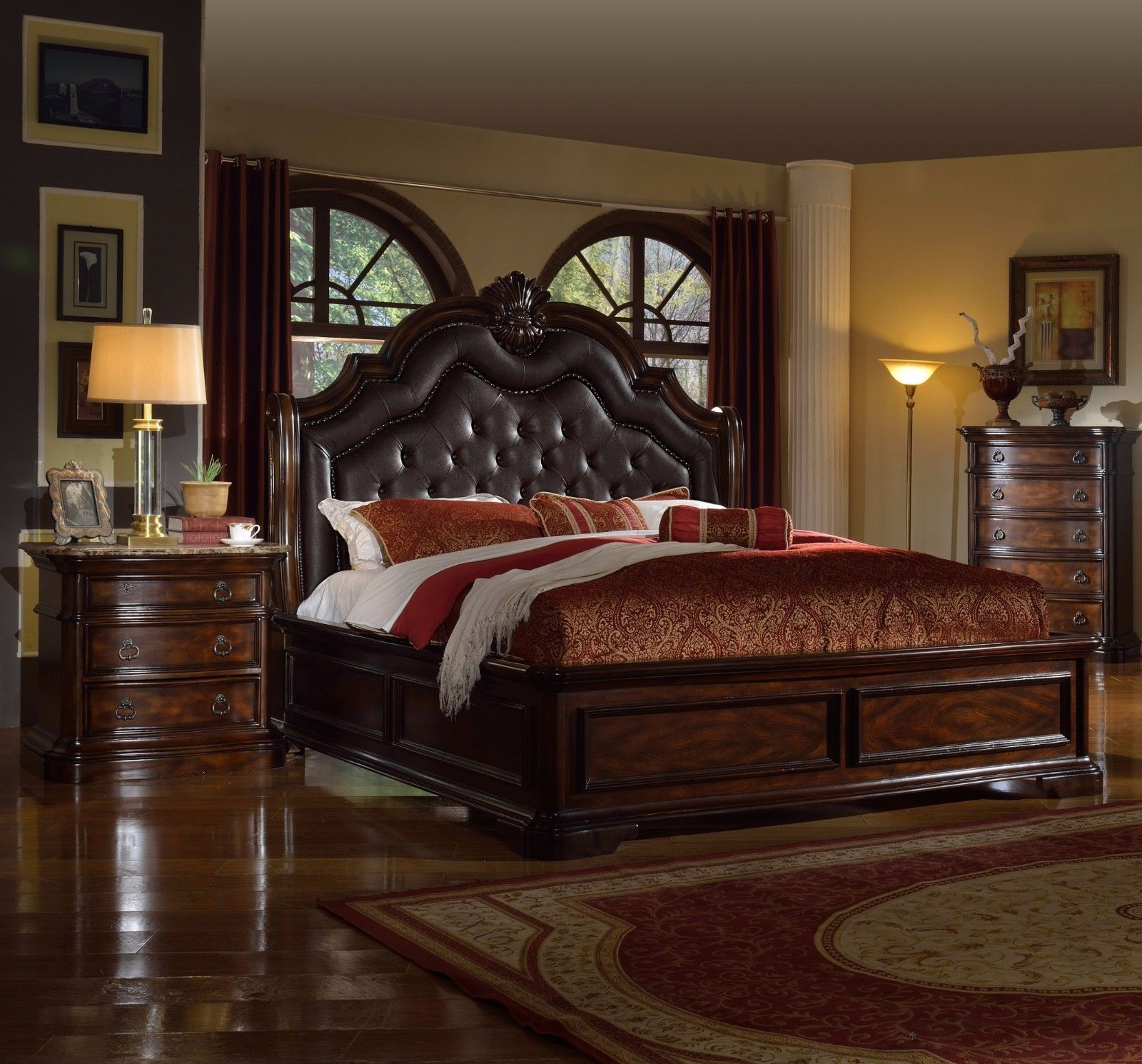mcferran rb6002 tuscan leather california king size 20386 | s l1600