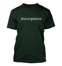 #overpower - Hashtag Men's Adult Short Sleeve T-Shirt  - $24.97