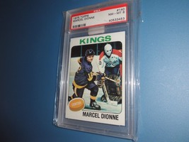 1975 Topps #140 Marcel Dionne Psa 8 -Los Angeles Kings-NM/MT - $19.98