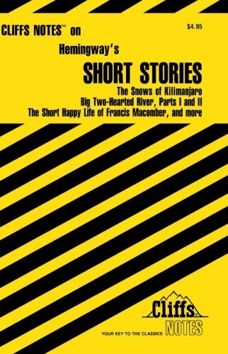 structure in hemingway s the short happy A detailed discussion of the writing styles running throughout the short, happy life of francis macomber the short, happy life of francis macomber including including point of view, structure, setting, language, and meaning.