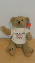 "Vintage New York USA Torkia Tony Bear Collection Tag On Bear-Jointed 10""- - $10.00"