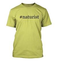 #naturist - Hashtag Men's Adult Short Sleeve T-Shirt  - $24.97