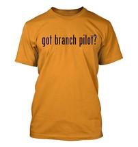 got branch pilot? Men's Adult Short Sleeve T-Shirt   - $24.97