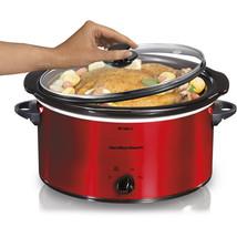 Kitchen Appliances Oval 5-Quart Portable Slow C... - $45.55